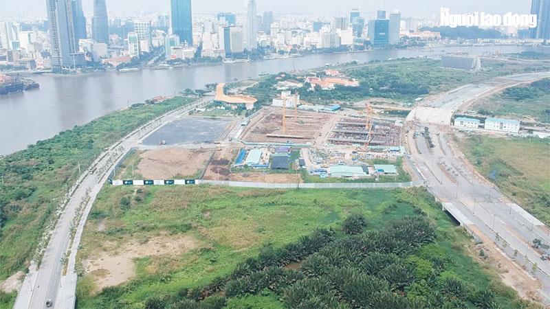 Tiến độ dự án Empire City 2019 - Tòa Liden đã hoàn thành phần móng cọc