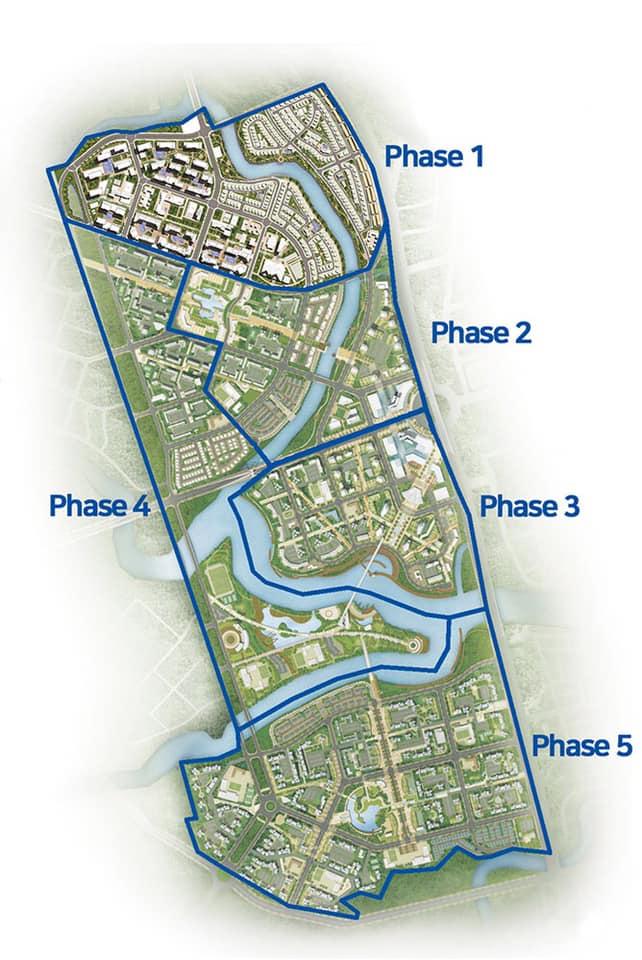 Chi tiết các giai đoạn của dự án GS Metro City
