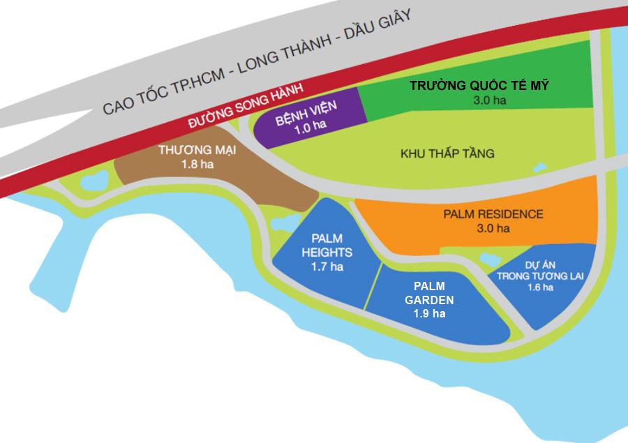 Quy hoạch Palm City